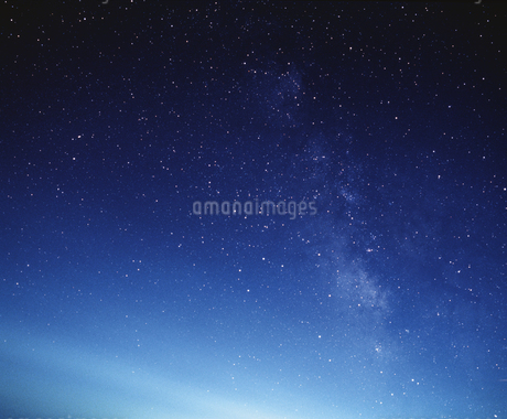 満天の星の写真素材 [FYI02378459]
