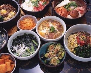 韓国料理イメージの写真素材 [FYI02379637]