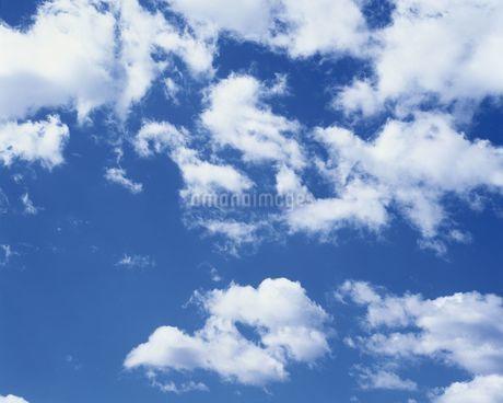 青空と雲の写真素材 [FYI02380995]