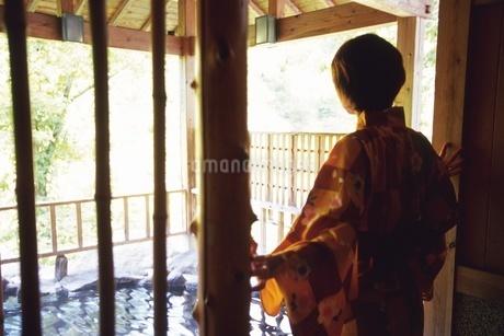 温泉旅行の写真素材 [FYI02381559]