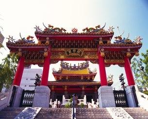 中華街 関帝廟の写真素材 [FYI02382748]