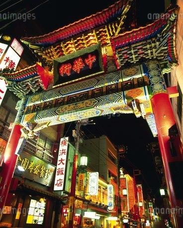 中華街 善隣門の写真素材 [FYI02382919]