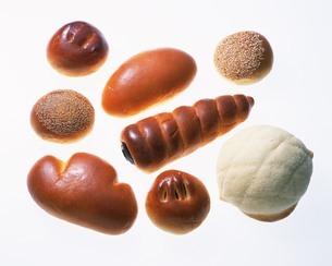 菓子パン各種の写真素材 [FYI02383197]