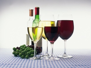 ワインイメージの写真素材 [FYI02383767]