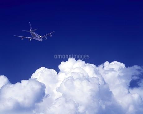 飛行機イメージの写真素材 [FYI02384243]