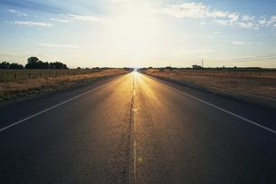 一本道の写真素材 [FYI02384416]