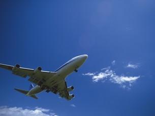 飛行機の写真素材 [FYI02386317]