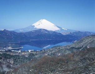 大観山からの富士山の写真素材 [FYI02389411]