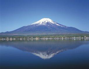 逆さ富士の写真素材 [FYI02389695]