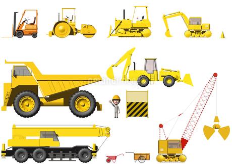 工事車両のイラスト素材 [FYI02391015]
