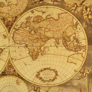 古地図の写真素材 [FYI02392580]