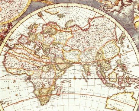 古地図の写真素材 [FYI02393986]