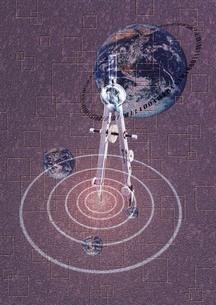 天文学イメージのイラスト素材 [FYI02396091]