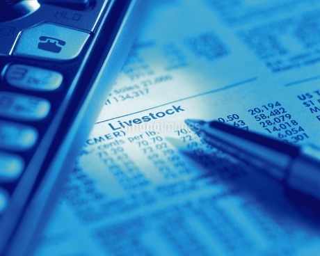 金融証券イメージの写真素材 [FYI02396109]