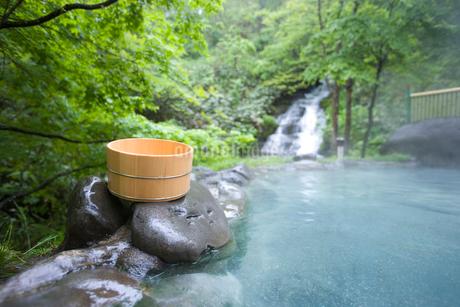 露天風呂の写真素材 [FYI02398742]