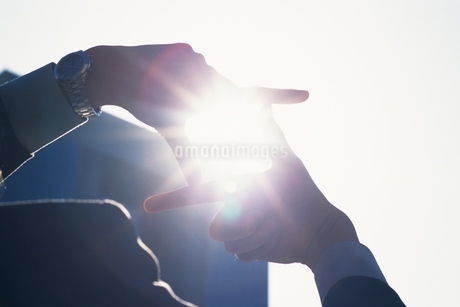ビジネスマンの手の写真素材 [FYI02398852]