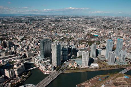 JR横浜駅 金港JCT周辺の写真素材 [FYI02399015]