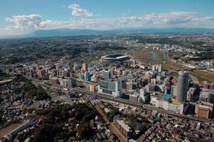 日産スタジアム 東海道新幹線新横浜駅周辺の写真素材 [FYI02399114]