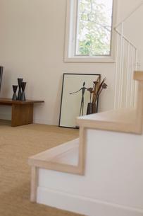 階段のある部屋の写真素材 [FYI02399248]