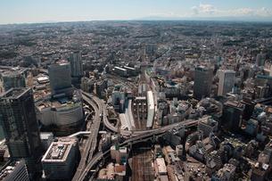 JR横浜駅 金港JCT周辺の写真素材 [FYI02400221]