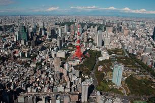 東京タワー周辺の写真素材 [FYI02400227]