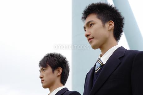 男子生徒2人の写真素材 [FYI02402140]