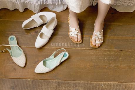 女性の履き物の写真素材 [FYI02402251]