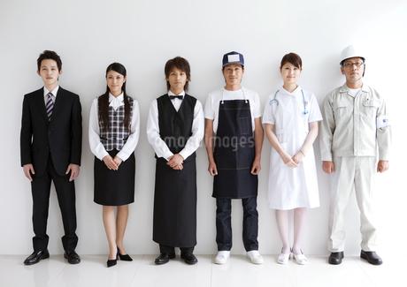 色々な職業の人々の写真素材 [FYI02406631]