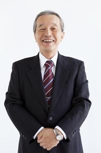 笑顔の中高年ビジネスマンの写真素材 [FYI02407327]