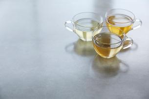 3種類の紅茶の写真素材 [FYI02421066]