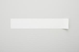 貼ってある白いテープのイラスト素材 [FYI02422475]