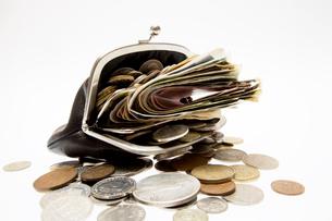 お金と財布の写真素材 [FYI02424307]