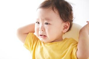 泣く赤ちゃんの写真素材 [FYI02426400]