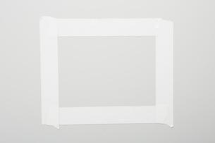 白いテープでできたフレームのイラスト素材 [FYI02428981]