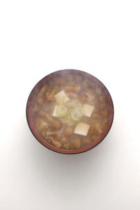 なめこ汁の写真素材 [FYI02430008]