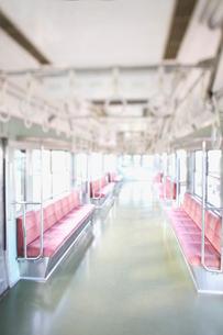 電車の座席の写真素材 [FYI02434387]