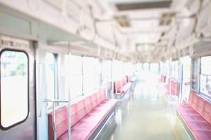 電車の座席の写真素材 [FYI02434475]