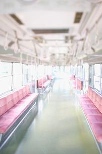 電車の座席の写真素材 [FYI02434582]