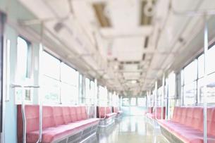 電車の座席の写真素材 [FYI02434903]