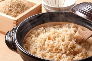 玄米ご飯の写真素材 [FYI02436592]