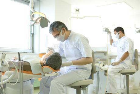 歯科医院のシーンの写真素材 [FYI02438479]