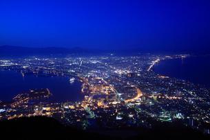 函館の夜景の写真素材 [FYI02447645]