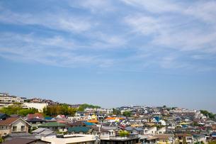 住宅街の写真素材 [FYI02447815]
