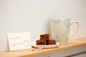 バレンタインの生チョコの写真素材 [FYI02448330]