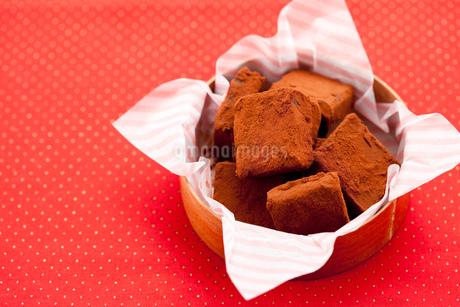 手作り生チョコプレゼントの写真素材 [FYI02448394]
