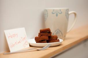 バレンタインの生チョコの写真素材 [FYI02448790]