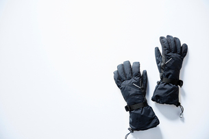 雪山用グローブの写真素材 [FYI02452352]