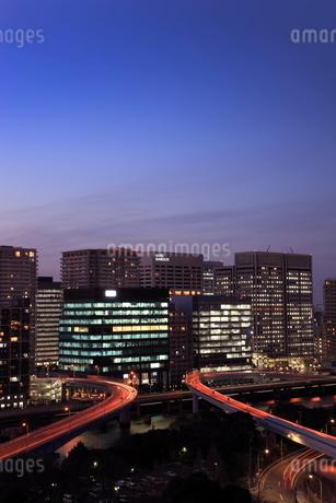 品川シーサイドの夜景の写真素材 [FYI02456872]