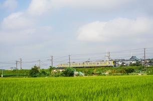 横浜高速鉄道こどもの国線の電車の写真素材 [FYI02457185]
