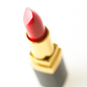 真っ赤な口紅の写真素材 [FYI02459112]